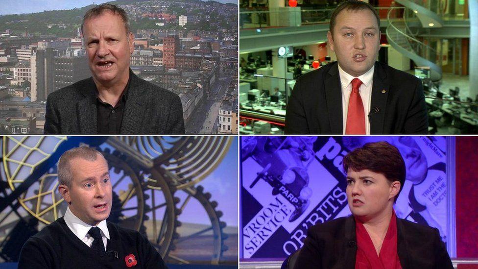 Pete Wishart, Ian Murray, Lord Purvis, Ruth Davidson