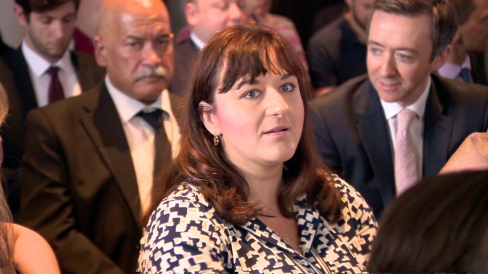 """Labour MP Ruth Smeeth left the launch of the inquiry report after comments from a grassroots campaigner which she described as """"anti-Semitic slurs"""""""