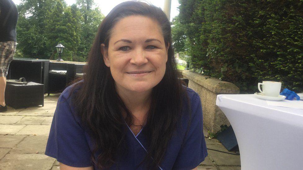 Podiatrist Alison Barley