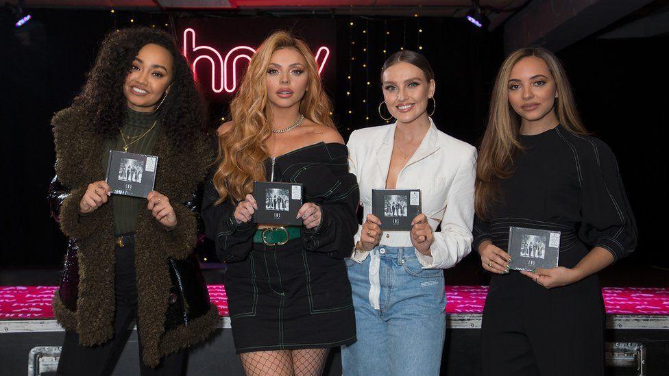 Little Mix launching an album in HMV