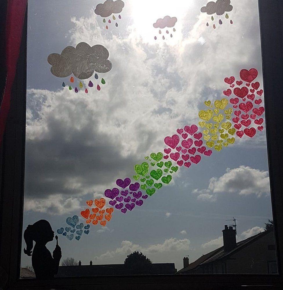 Christina Tait's rainbow