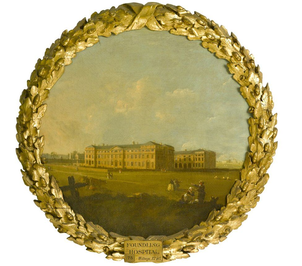 The Foundling Hospital, 1746 was painted by Richard Wilson