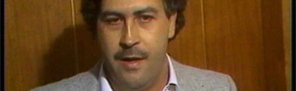 VT Freeze Frame of Pablo Escobar in 1991