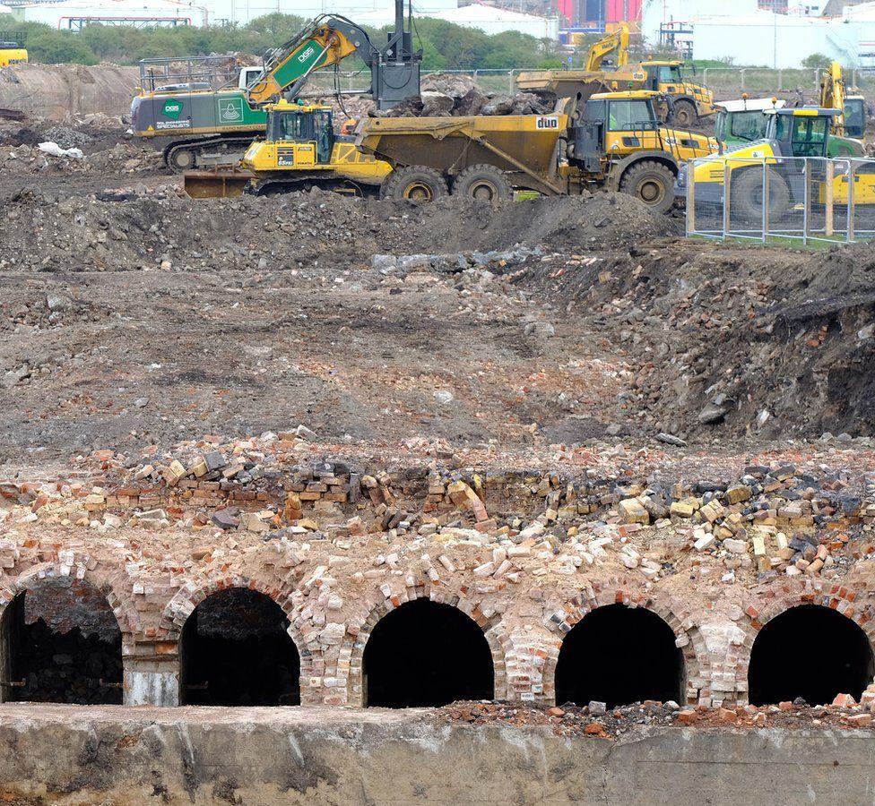 Middlesbrough 'ironworks' found under construction site