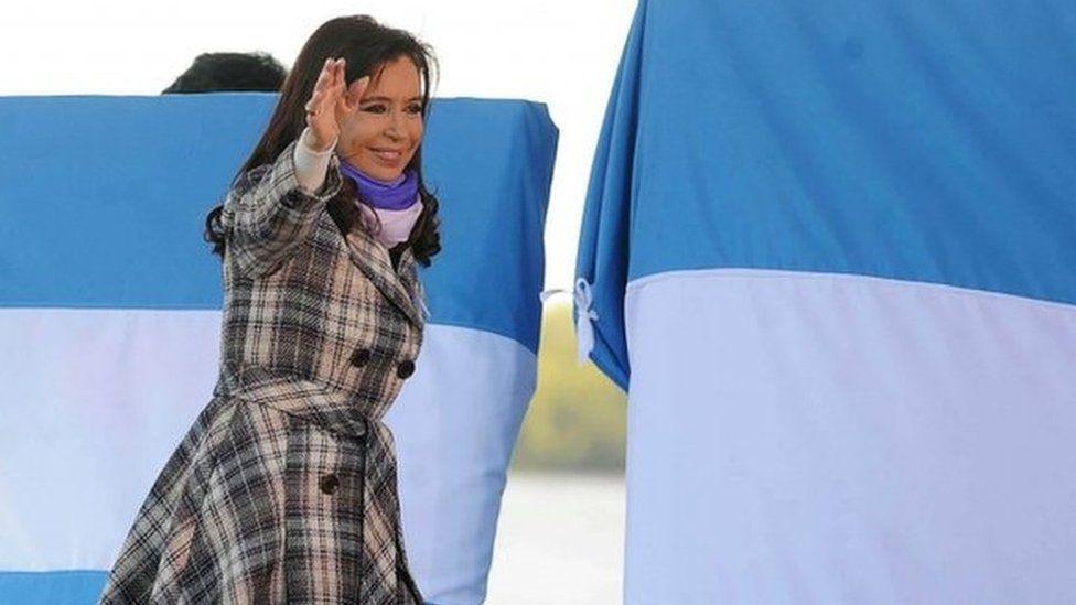 President Cristina Fernandez de Kirchner, Rosario, 20 June 2014
