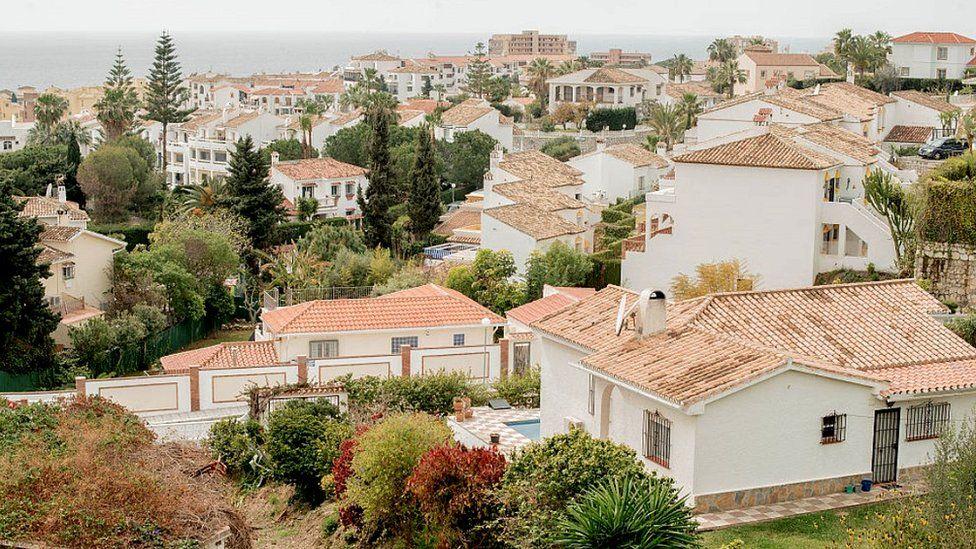 Villas in Mijas, Costa del Sol - file pic