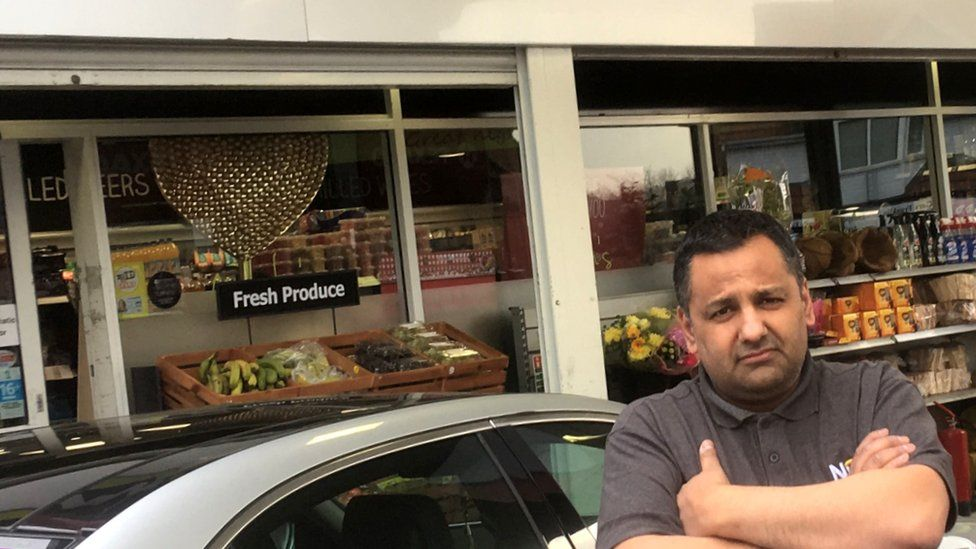 Convenience store owner Paul Cheema