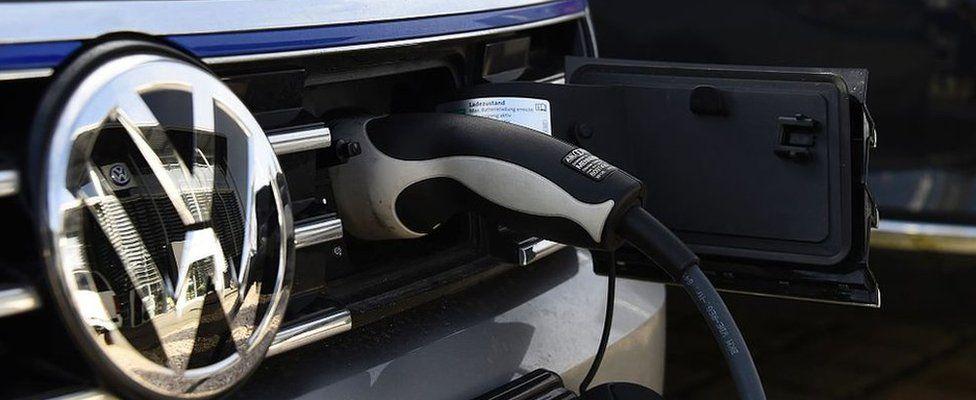 VW electric car