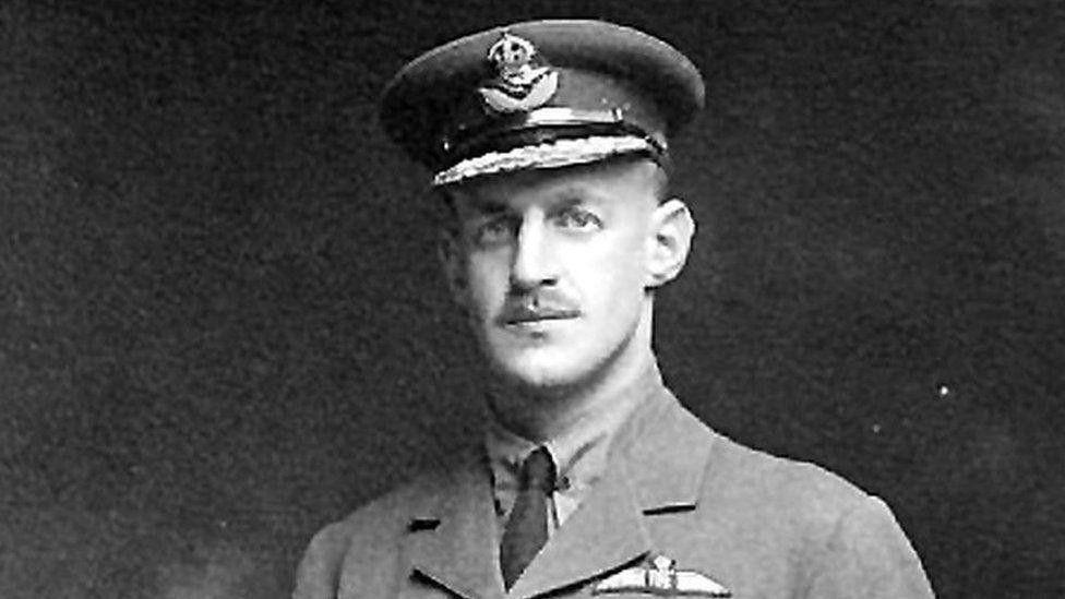 RAF jet named after Caernarfon world war hero Lionel Rees
