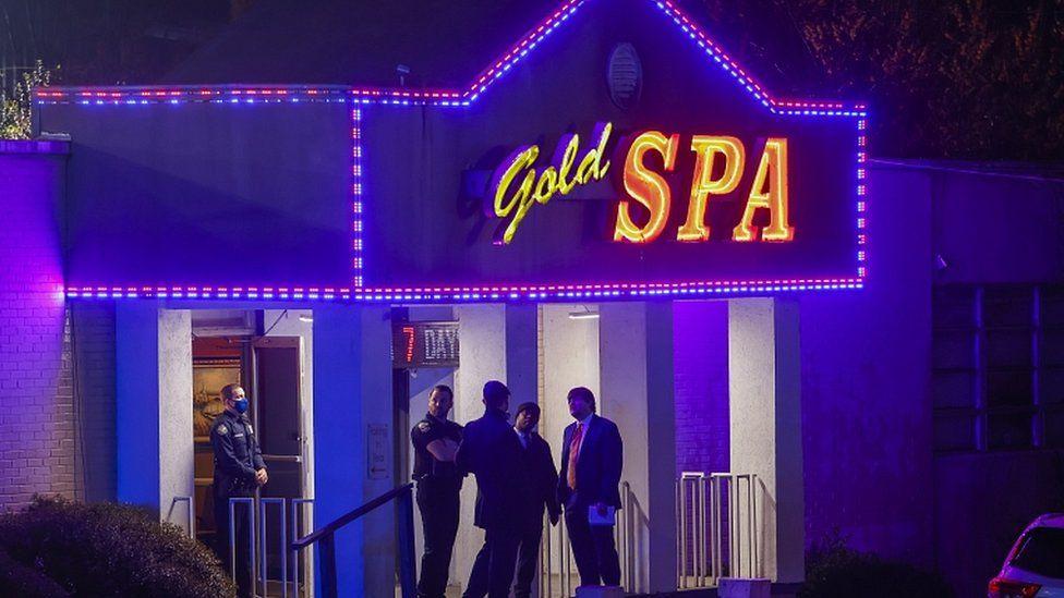 Atlanta Shootings Asian Women Among Eight Killed At Three Spas Bbc News