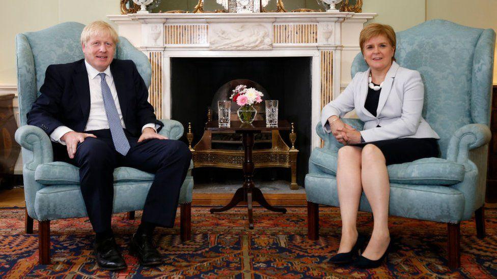Sturgeon and Johnson