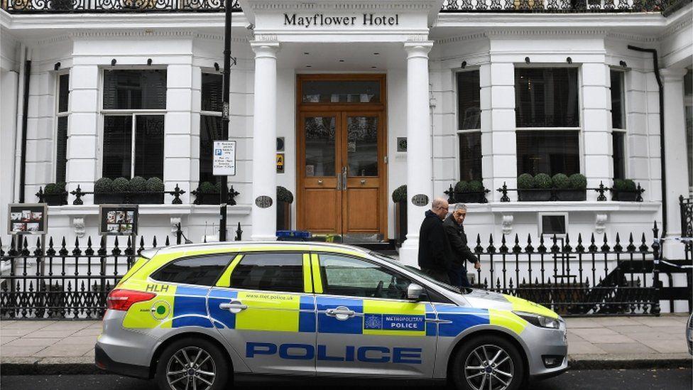 The Mayflower Hotel in Kensington