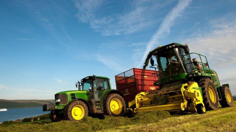 Farming near Stranraer