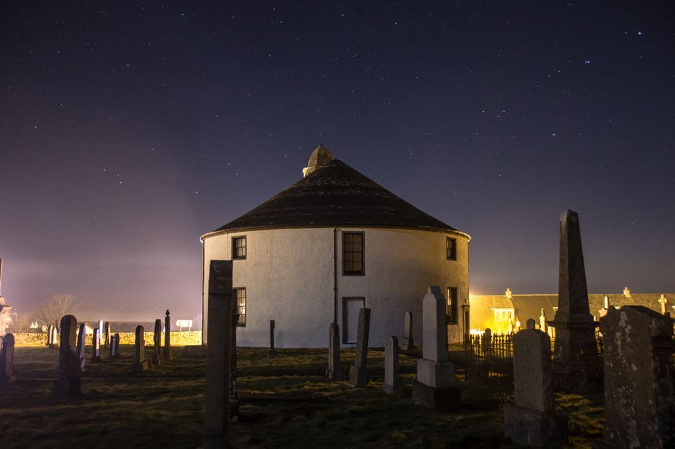Round Church in Bowmore, Islay