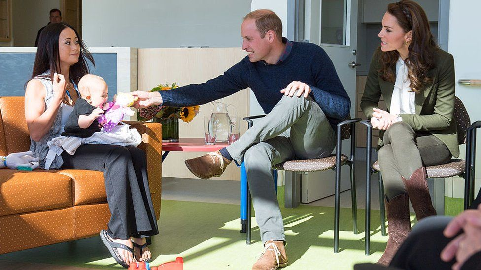 Prince William and Kate visited a new hospital in Canada in September