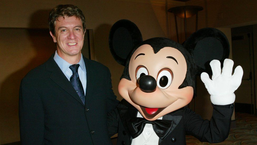 Mr Mooney and Mickey Mouse