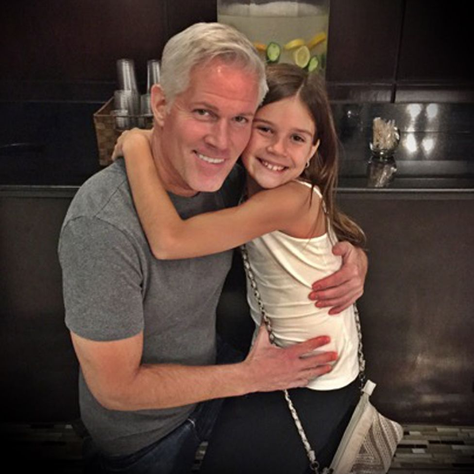 Paul and his daughter Emma