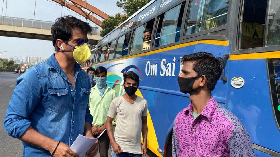 India coronavirus: Bollywood actor Sonu Sood hailed for helping ...