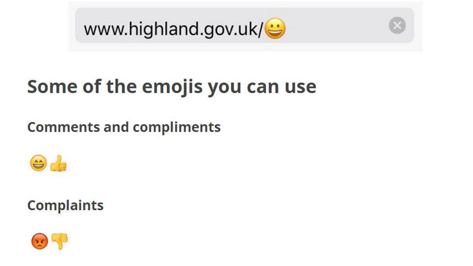 Highland Council emojis