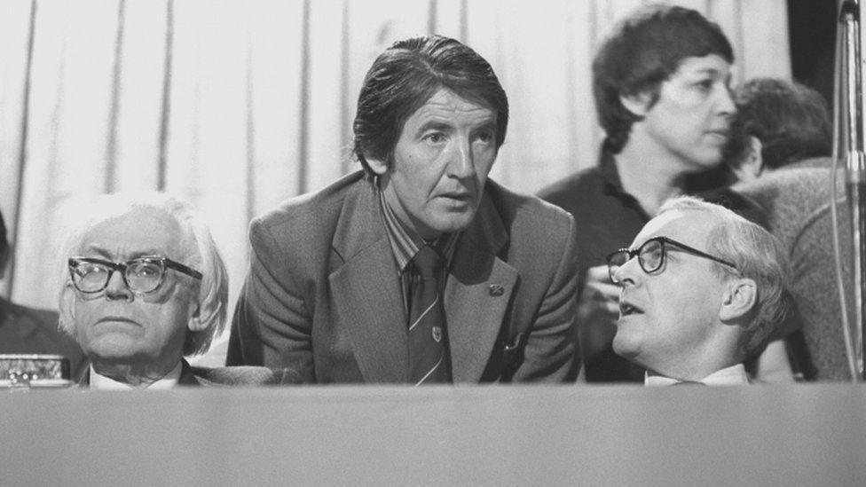 Dennis Skinner in 1980