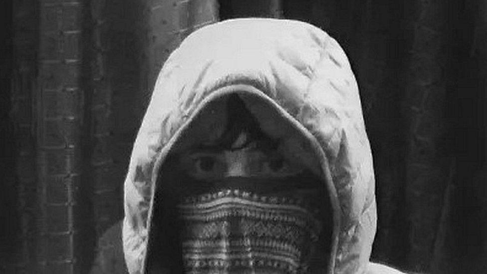 CCTV of suspect