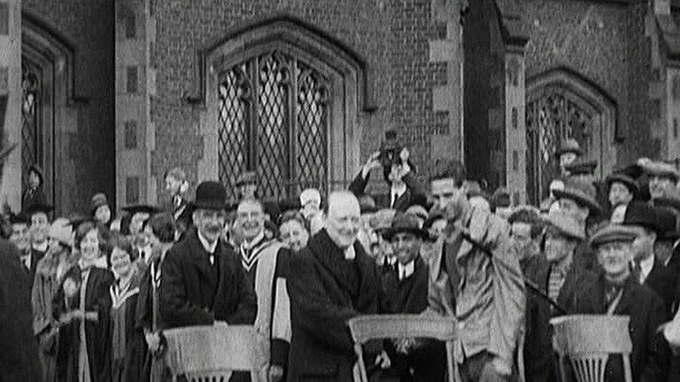 Churchill visit