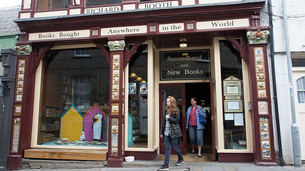 Richard Booths' Bookshop in Hay on Wye