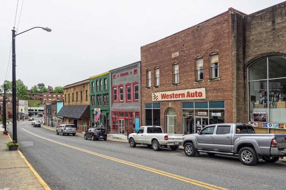 Letcher County in the Appalachians