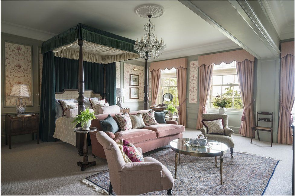 A suite at the Gleneagles Hotel