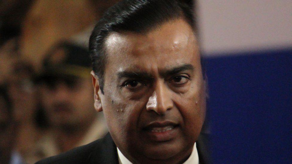 Chairman and Managing Director of Reliance Industries Mukesh Ambani