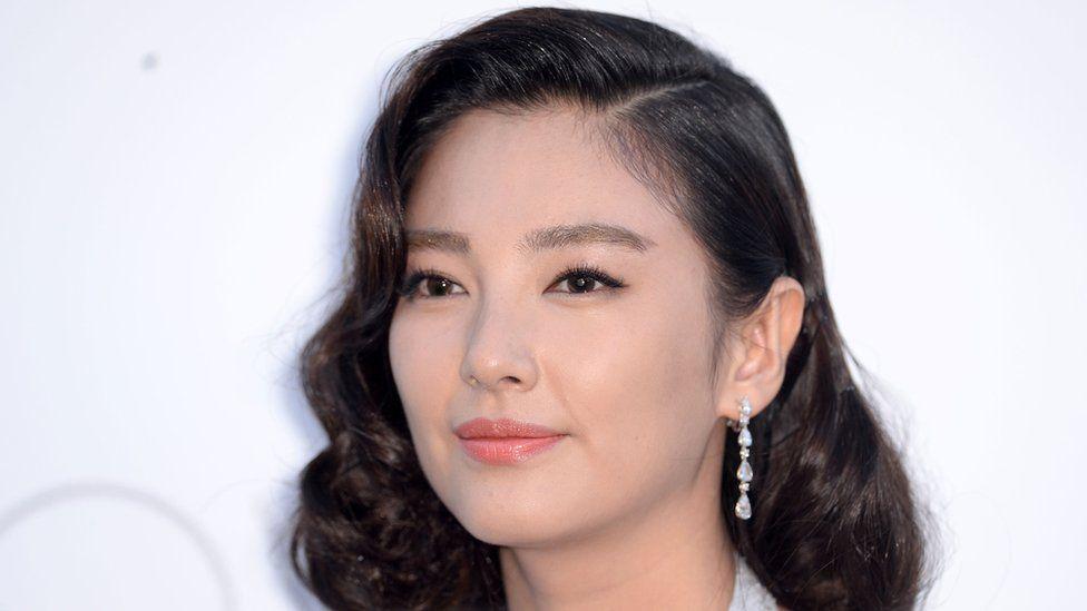 Actress Kitty Zhang