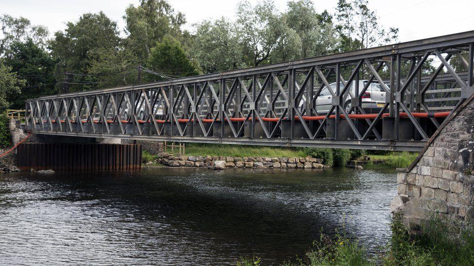 Temporary Pooley Bridge