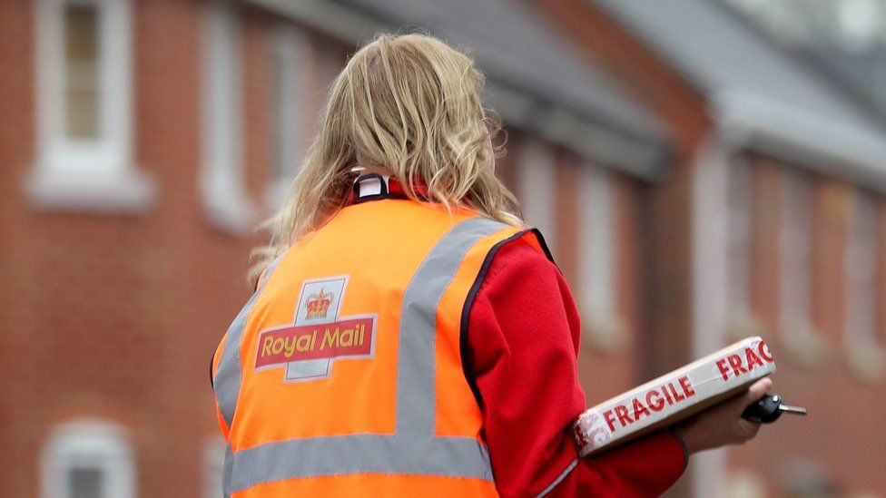 Royal Mail worker