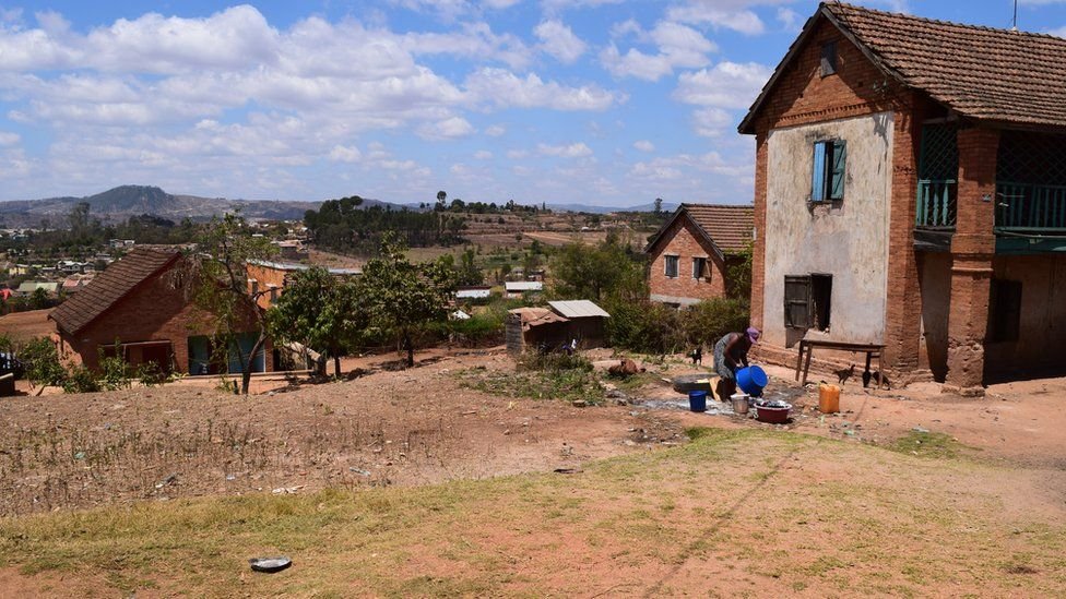 The suburb of Ambohipeno in the town of Antsirabe