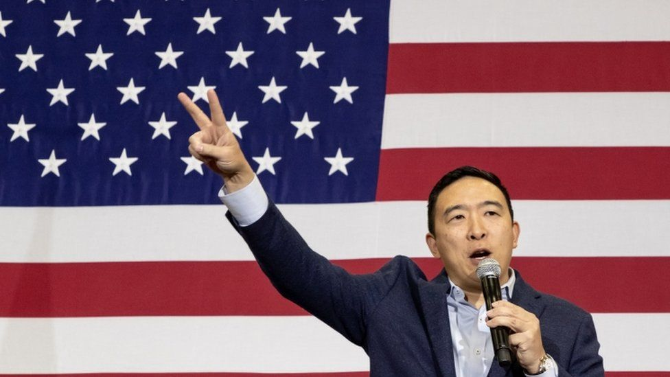 Andrew Yang, presidential candidate