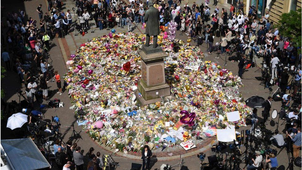 Manchester after the attack