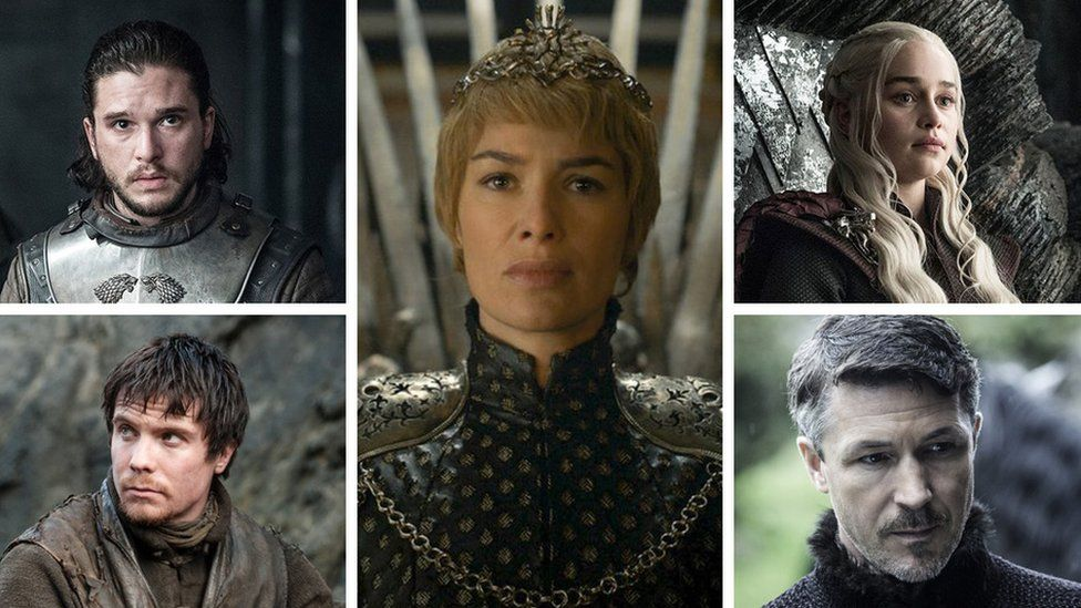 Five Game of Thrones characters