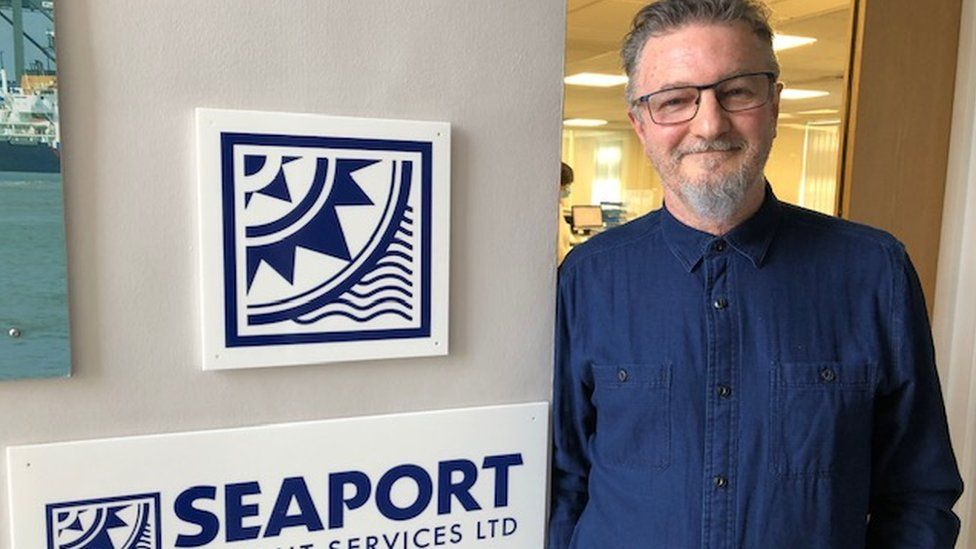 Steve Parks, director of Seaport Freight Services