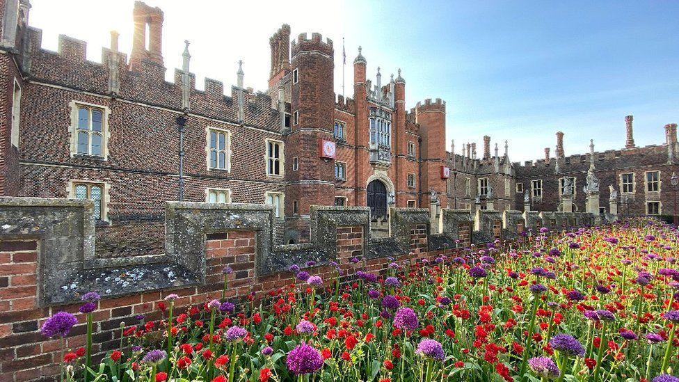 Coronavirus: Spending lockdown in Henry VIII's palace