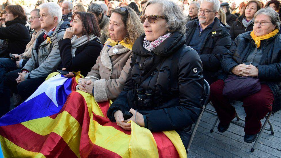 ERC campaign rally in Barcelona, 16 Dec 17