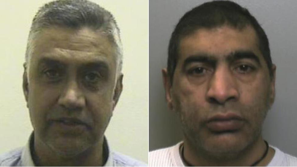 Mohammed Nawaz (left) and Abdul Manuf (right)