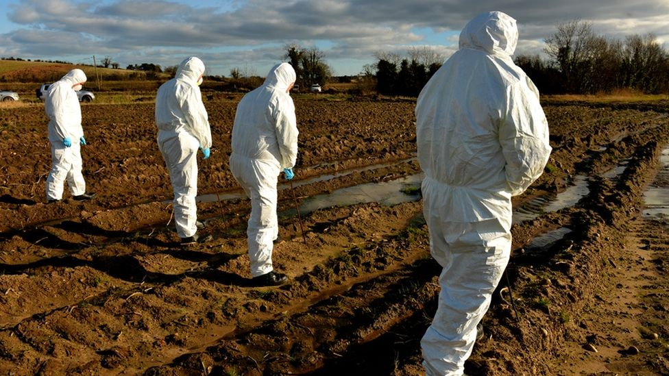 PSNI forensics officers
