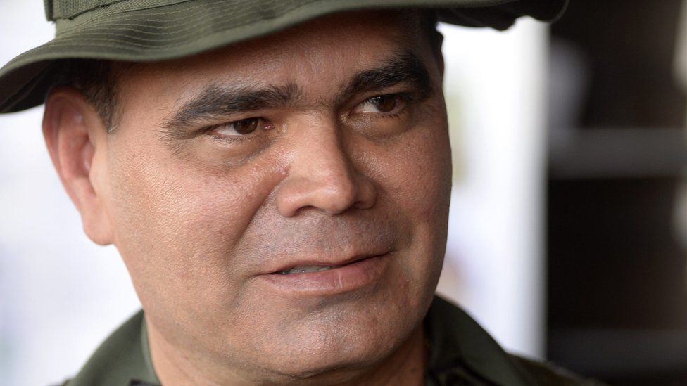 Venezuelan defence minister Vladimir Padrino