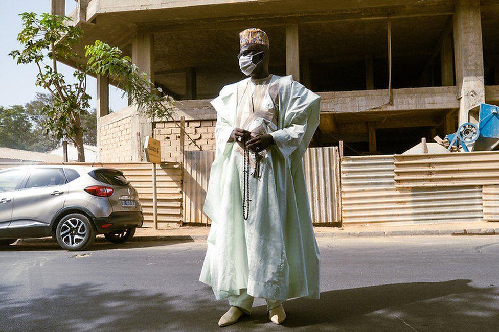 Mamadou Diokhame poses for the camera