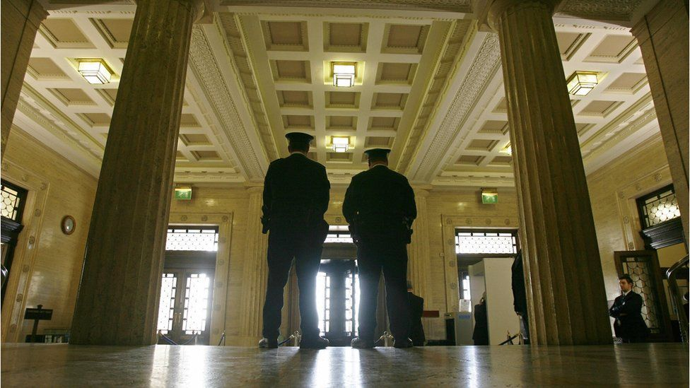 Security at Stormont