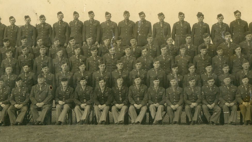 Thousands of US soldiers passed through Northern Ireland during World War Two