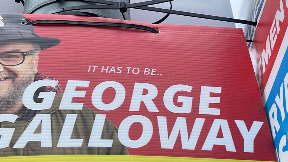 George Galloway poster