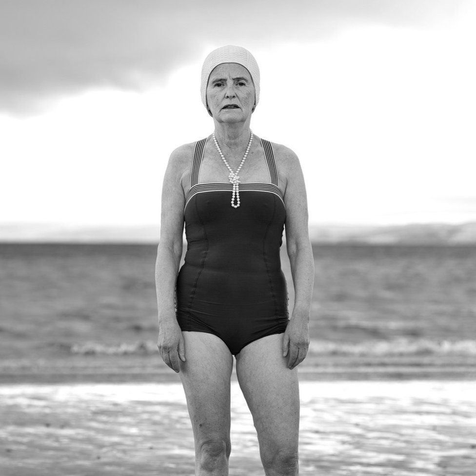Photograph of 'The Silver Swimmer' by Frank McElhinney
