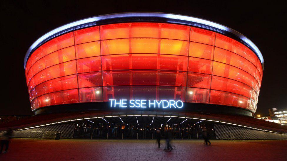 Glasgow's SSE Hydro concert venue