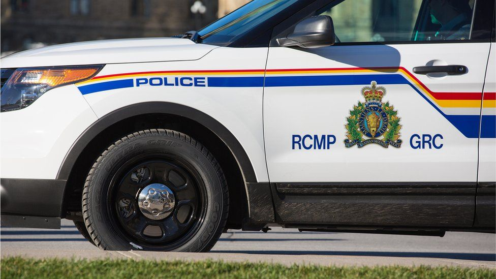 An image of a parked RCMP vehicle